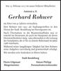 Gerhard Rohwer