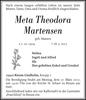 Meta Theodora Martensen