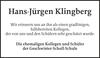 Hans-Jürgen Klingberg