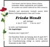Frieda Wendt