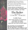 Else Becker