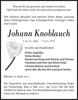 Johann Knoblauch