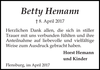 Betty Hemann