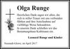 Olga Runge