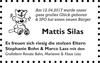 Mattis Silas